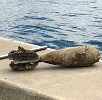 Бомба обнаружена в Сиднейском заливе