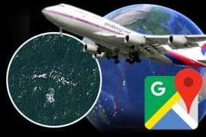 MH370 обнаружен с пулевыми отверстиями