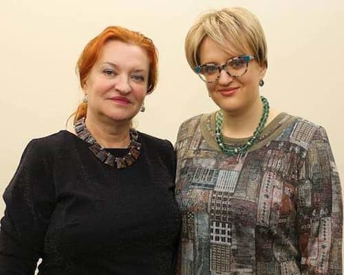 Сара Бендетская и Мила Вечёркина