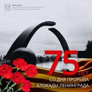 Освобождение Ленинграда от фашистской блокады