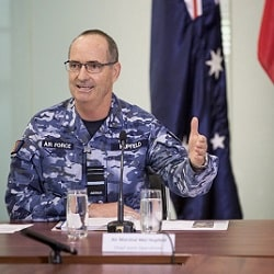 Air Marshal Mel Hupfeld
