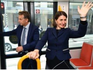 Долгожданный трамвай в Сиднее