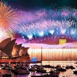 Новогодняя ночь в Сиднее