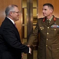 Защитить австралийский персонал