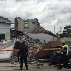 В Сиднее рухнуло здание