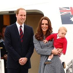 Королевская пара посетит Австралию