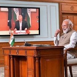 Встреча лидеров Австралии и Индии