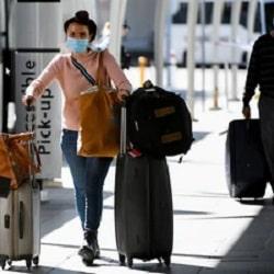 Сокращается вдвое прибытие международных рейсов