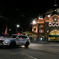 Комендантский час в Мельбурне