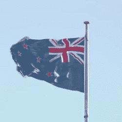 Флаг развевается уже почти месяц, и никто из правительства не заметил этого, пока на ошибку не указал новостной канал 7NEWS.