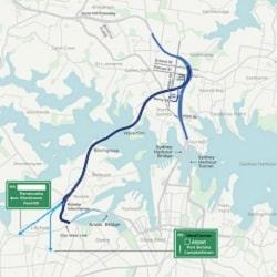 Дорожные сборы через Сиднейскую гавань