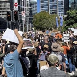 Митинги по всей Австралии