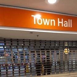 Эвакуация со станции Town Hall