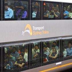 Количество пассажиров вреальном времени