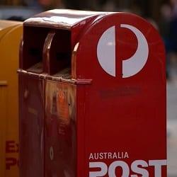 Почта Австралии временно приостановит