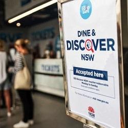Новые ваучеры Dine and Discover